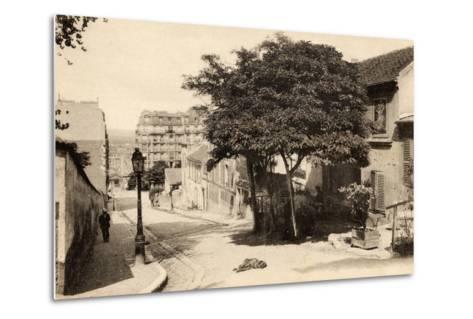 The Lapin Agile, Butte Montmartre, Rue Des Saules, Paris, C.1900--Metal Print