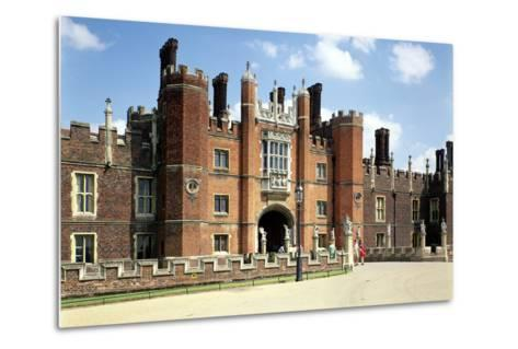 Hampton Court Palace in Spring14 and 1520--Metal Print