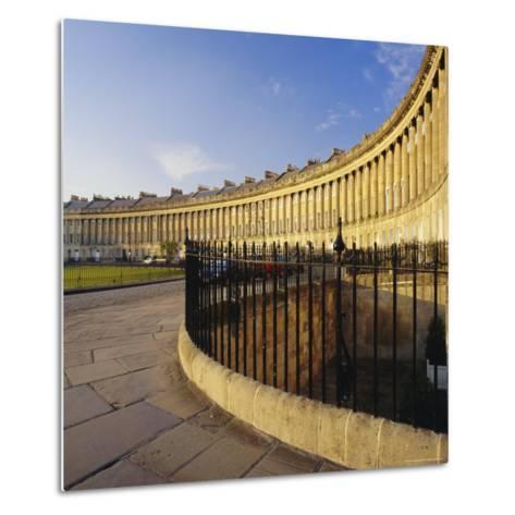 The Royal Crescent, Bath, Avon & Somerset, England-Roy Rainford-Metal Print