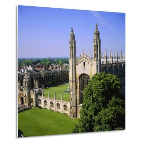 King's College Chapel, Cambridge, Cambridgeshire, England, UK-Roy Rainford-Metal Print