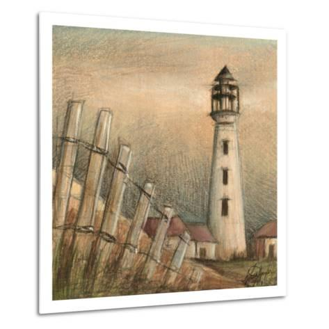 Coastal View II-Ethan Harper-Metal Print