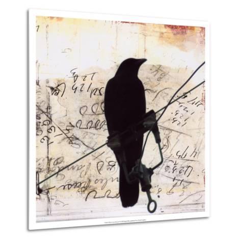 What Crows Reveal I-Ingrid Blixt-Metal Print