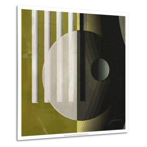 Quartet Tiles III-James Burghardt-Metal Print