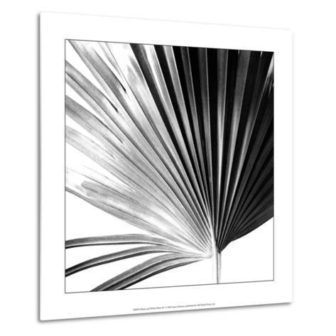 Black and White Palms IV-Jason Johnson-Metal Print