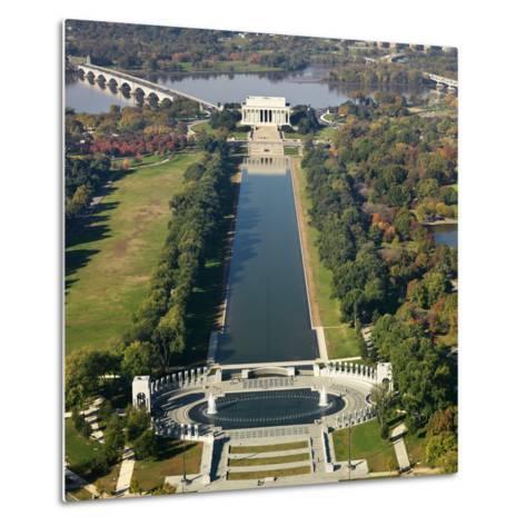 Lincoln Memorial-Ron Chapple-Metal Print