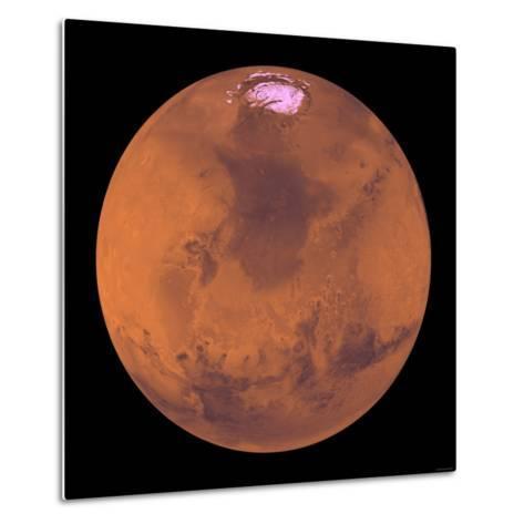 Mars-Stocktrek Images-Metal Print