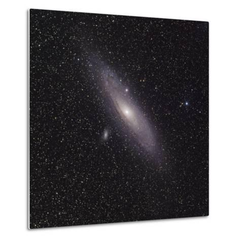 Andromeda Galaxy (M31) with Satellite Galaxies Messier 110 and Messier 32-Stocktrek Images-Metal Print