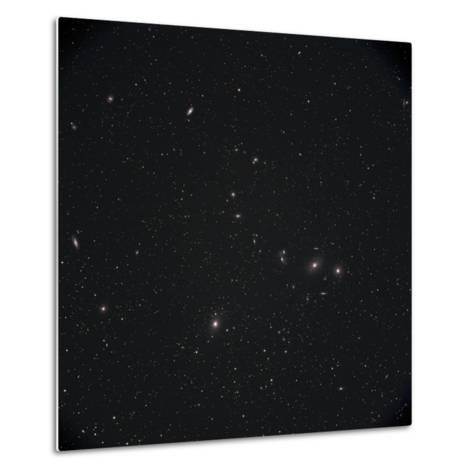 Markarian Chain Galaxies with M84, M86, M87, M88, and M90-Stocktrek Images-Metal Print