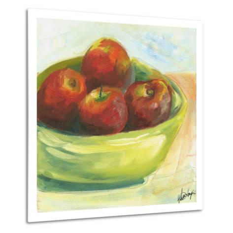 Large Bowl of Fruit III-Ethan Harper-Metal Print