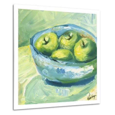 Small Bowl of Fruit II-Ethan Harper-Metal Print