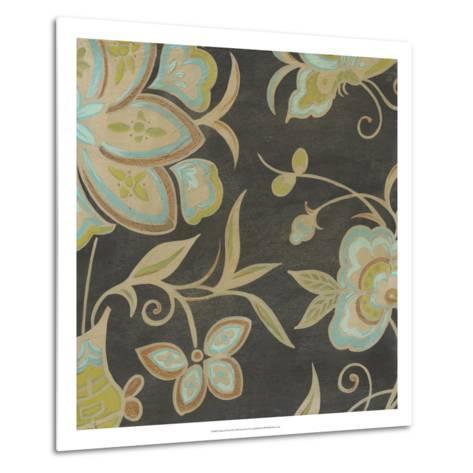 Heirloom Floral II-Erica J^ Vess-Metal Print