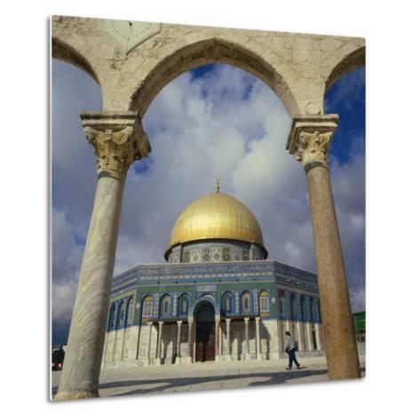 Dome of the Rock, Jerusalem, Israel, Middle East-Robert Harding-Metal Print