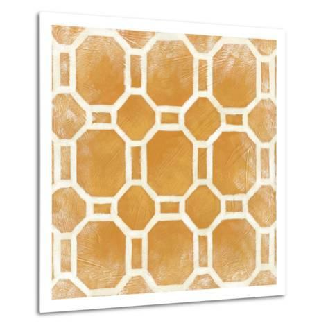 Modern Symmetry I-Chariklia Zarris-Metal Print