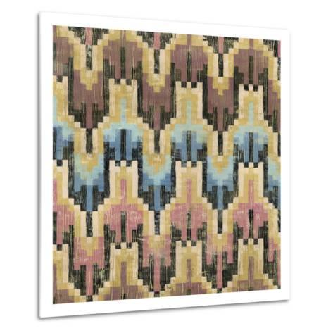 Flame Stitch I-Chariklia Zarris-Metal Print