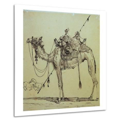 Camel-Rodolphe Bresdin-Metal Print