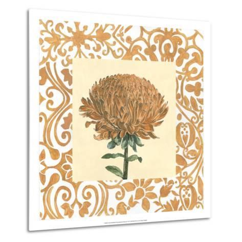 Non-embellished Chrysanthemum III-Megan Meagher-Metal Print