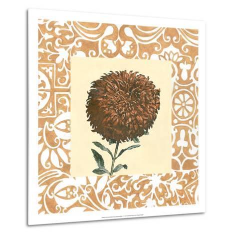 Non-embellished Chrysanthemum IV-Megan Meagher-Metal Print