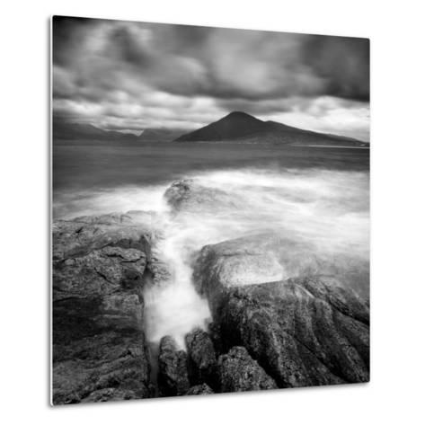 Luskentyre and the Hills of North Harris from Isle of Taransay, Outer Hebrides, Scotland-Lee Frost-Metal Print