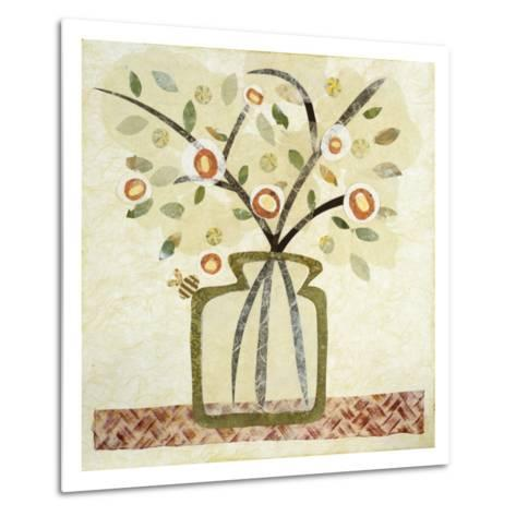 A Jar of Flowers I-Kate Endle-Metal Print