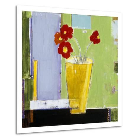 Red Bouquet I-Charlotte Foust-Metal Print