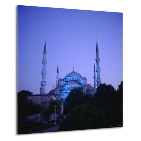 Sultan Ahmet Mosque (Blue Mosque) 1609-1616, Istanbul Turkey, Eurasia-Christopher Rennie-Metal Print