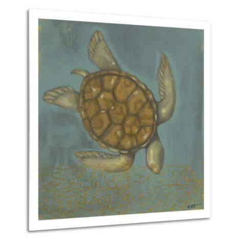 Sea Turtle I-Norman Wyatt Jr^-Metal Print
