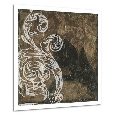 Non-Embellished Scroll 9 Patch I--Metal Print