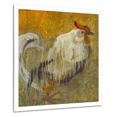 Rooster II-Maeve Harris-Metal Print