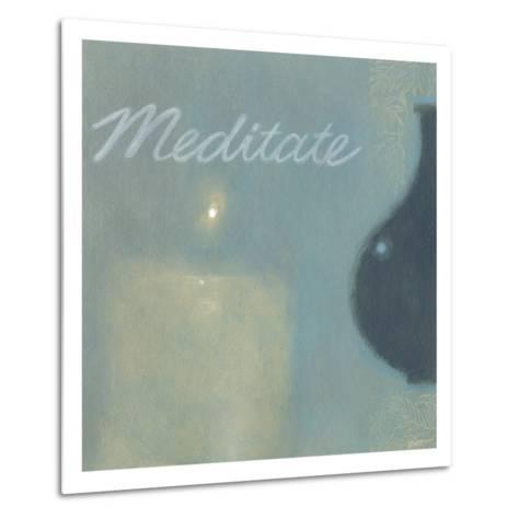 Meditate-Norman Wyatt Jr^-Metal Print