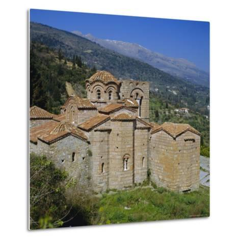 The Church of St. Sophia, Mistras, Greece, Europe-Tony Gervis-Metal Print