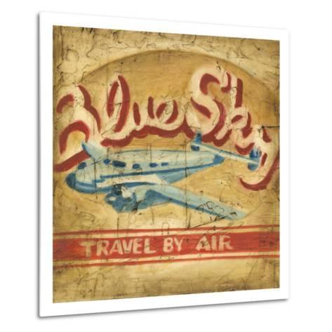 Blue Sky Travel-Ethan Harper-Metal Print