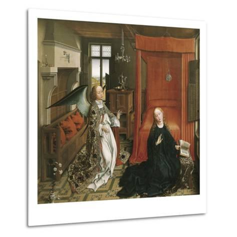 The Annunciation-Rogier van der Weyden-Metal Print