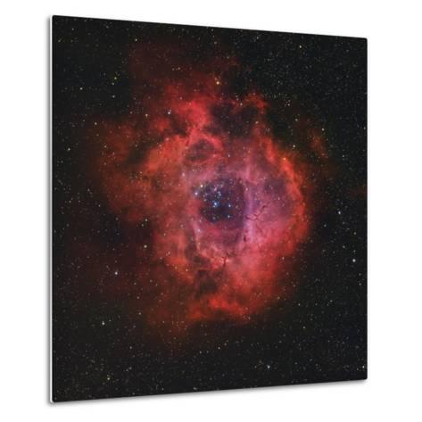 The Rosette Nebula-Stocktrek Images-Metal Print