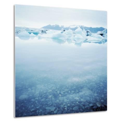 Icey Waters--Metal Print