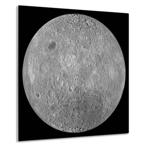 The Far Side of the Moon-Stocktrek Images-Metal Print