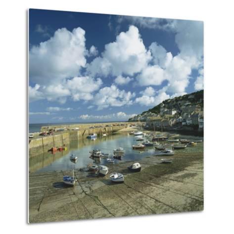Mousehole, Cornwall, England, United Kingdom, Europe-Roy Rainford-Metal Print