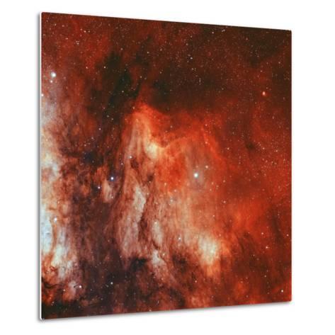 The Pelican Nebula-Stocktrek Images-Metal Print