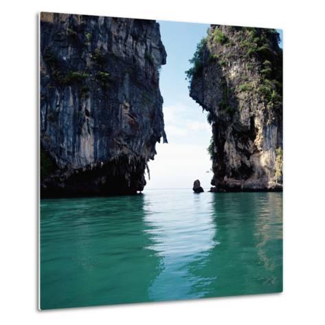 Thai coastline--Metal Print