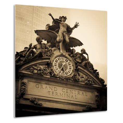 USA, New York City, Manhattan, Midtown, Grand Central Station-Alan Copson-Metal Print