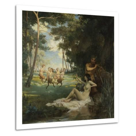 In the Morning of the World-George Percy Jacomb-Hood-Metal Print