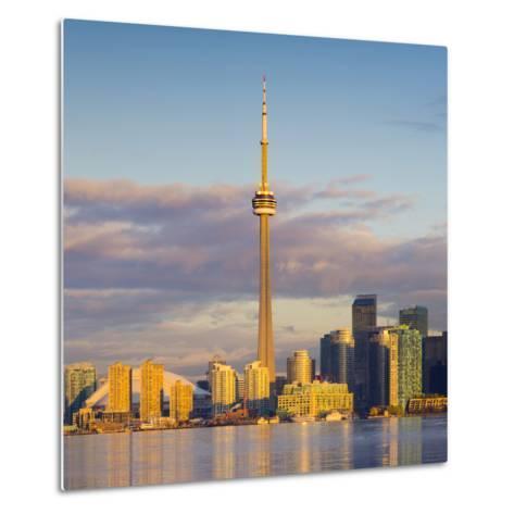 Canada, Ontario, Toronto, Cn Tower and Downtown Skyline-Alan Copson-Metal Print