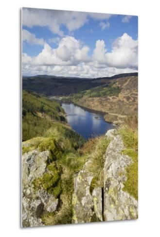 Glen Trool, Seen from White Bennan, Dumfries and Galloway, Scotland, United Kingdom, Europe-Gary Cook-Metal Print