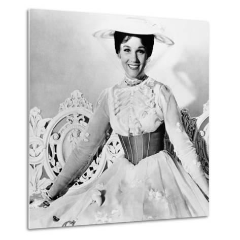 Mary Poppins, Julie Andrews, 1964--Metal Print