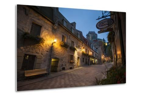 Quebec City, Province of Quebec, Canada, North America-Michael Snell-Metal Print