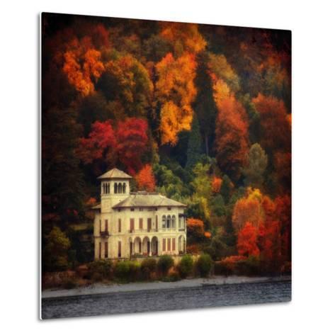 Autumn in My Garden-Philippe Sainte-Laudy-Metal Print