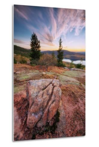 Cadillac Mountain Beauty-Vincent James-Metal Print