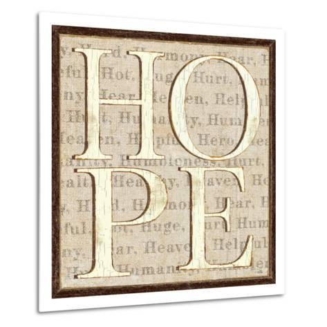 H is for Hope-Pela Design-Metal Print
