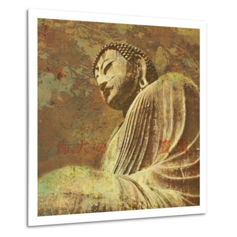 Asian Buddha II-Hugo Wild-Metal Print