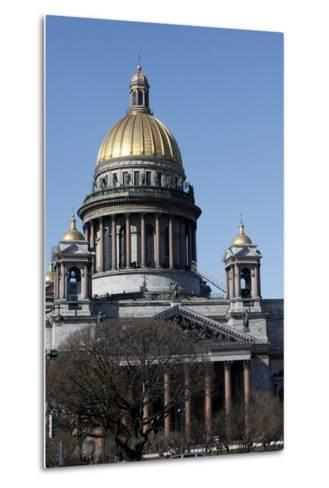 St. Isaac's Cathedral, St. Petersburg, Russia, Europe-Godong-Metal Print