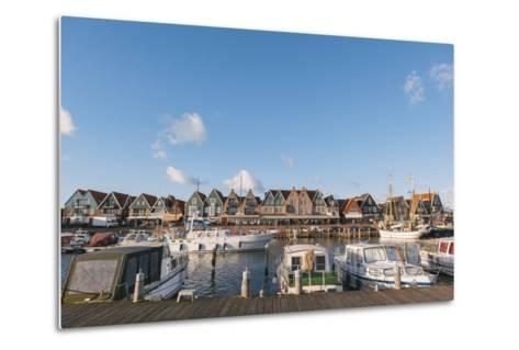Volendam Harbour, North Holland Province, the Netherlands (Holland), Europe-Mark Doherty-Metal Print